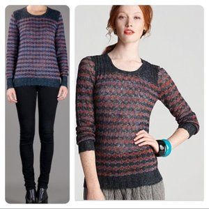 Marc By Marc Jacobs Sparkle Knit Crew Sweater XS